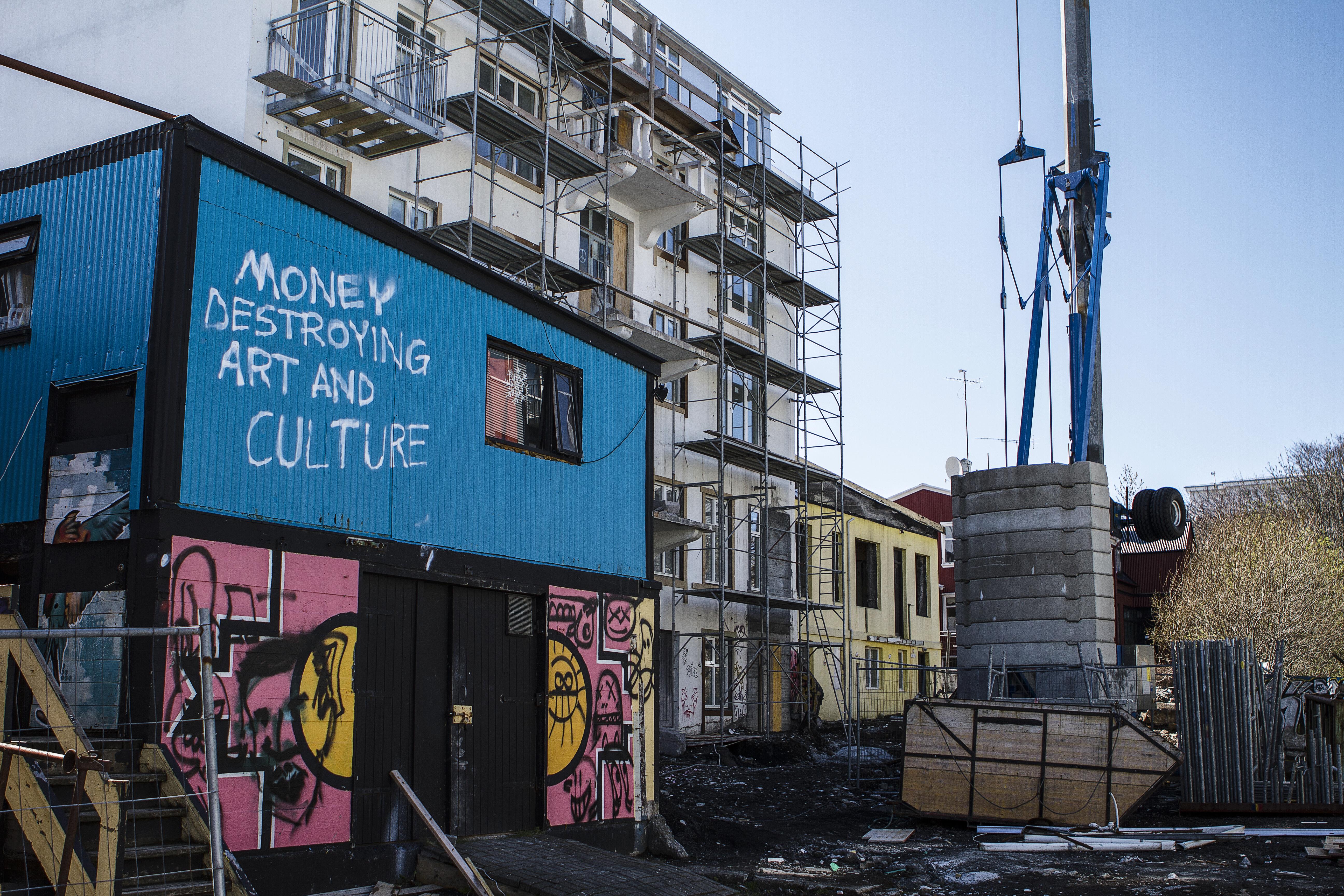 Reykjavik art objection